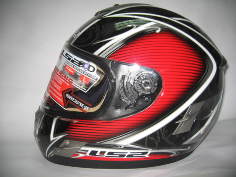 Casco integral LS2 CYBER