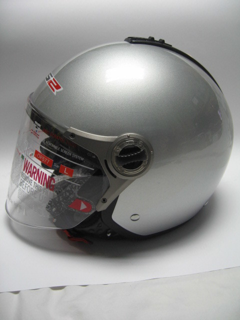 Casco jet LS2 TWIN V