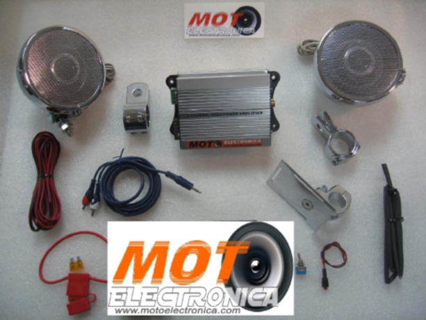 KIT AUDIO MOTOELECTRONICA 2 CANALES PARA MP4