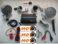 KIT AUDIO MOTOELECTRONICA 4 CANALES PARA MP4